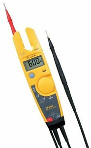 Fluke T5 600 600v Voltage Continuity And Current Tester New Free Shipping
