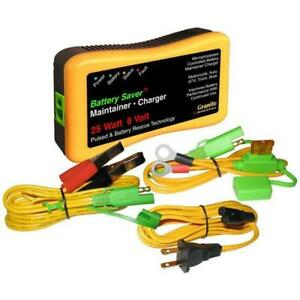 Battery Saver 6v 25w Battery Charger Maintainer Cleaner 3015 6