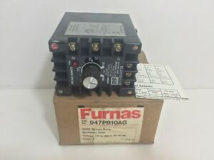 New Furnas Voltage Monitor Under Voltage Relay 947pb10ag