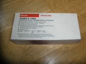 Honeywell T5086c 1005 Radiator Valve Thermostatic Actuator