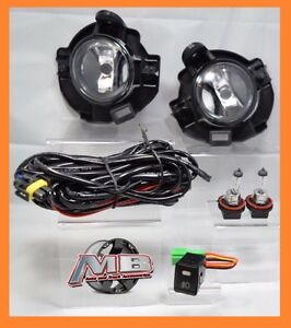 Winjet Fits 08 10 Nissan Rogue Fog Light Lamp Clear Wiring Switch Bulbs Included