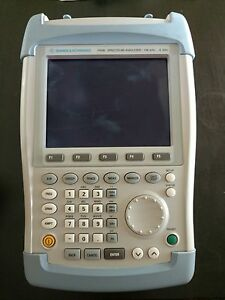 Rohde Schwarz Spectrum Analyzer Model Fsh6 100khz 6ghz