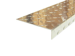 Aluminum Diamond Plate Angle 062 X 1 X 5 X 48 In Offset 3003 Uaac 2pcs