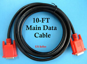 10 Ft Snap On Mt2500 Solus Pro Modis Scanner Data Cable Replaces Mt2500 5000 New