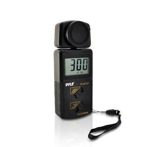 New Pyle Plmt21 Lux Light Meter 20 000 Lux Range W 2x Per Second Sampling
