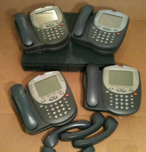 Avaya Ip Office 500 V2 Business Phone System With Voice Mail 8 Digital Phones