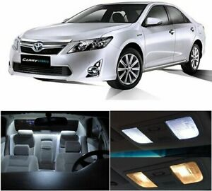 14x Car Led White Light Bulb Interior Package Kit For Toyota Camry 2012 2016 12v