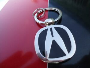 Acura Badge Emblem Keychain Key Fob Ring Usa Seller Fast Shipping