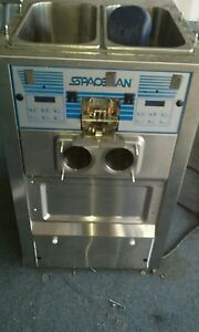 Spaceman 6245 Soft Serve Ice Cream Frozen Yogurt Machine
