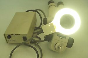 Olympus Sd stb2 Microscope Sz40 Gswh20x 12 5 Controller Sz flr Power On Tested