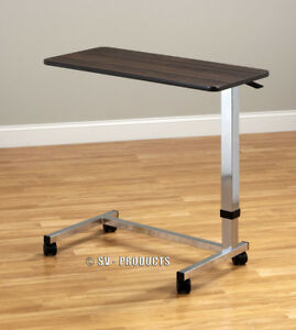Adjustable Medical Bedside Over Bed Side Table 216
