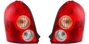 2002 2003 Mazda Protege 5 Hatchback Tail Lamp Light Left And Right Pair Set