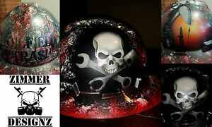 Detailed Oilfield Trash Hard Hat With Your Name On Back