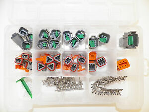 179 Pcs Gray Genuine Deutsch Dt Connector Kit Terminals Removal Tools From Us