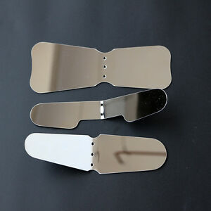 3pcs set Dental Stainless Steel Intra Oral Photograph Mirror Reflective Mirror