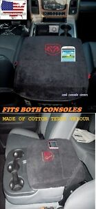 2000 2017 Dodge Ram 1500 2500 Cool Black Console Cover