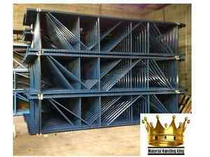 Pallet Rack Teardrop Warehouse Racking Uprights 144 X 48