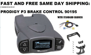 P3 Electronic Brake Control By Tekonsha 90195 With Standrad Harness