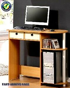 New Computer Desk Table Wooden Classic Office Home Workstation Student Furniture