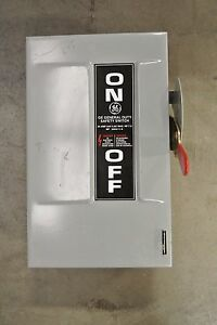 Ge General Electric Safety Disconnect Switch Tg4321 30 Amp 240 Volt