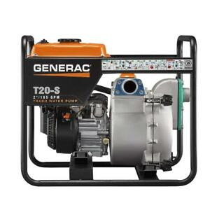 Generac T20 s 2 Trash Water Pump 211cc Subaru Ohc Engine 6920