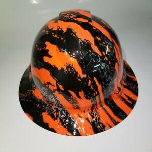 Hard Hat Full Brim Custom Hydro Dipped Osha Approved New Urban Camo Hi Vis