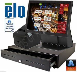 Aldelo Pro Elo Cafe Buffet Restaurant All in one Complete Pos System New