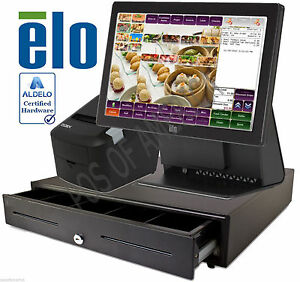 Aldelo Pro Elo Chinese Restaurant All in one Complete Pos System Bundle New