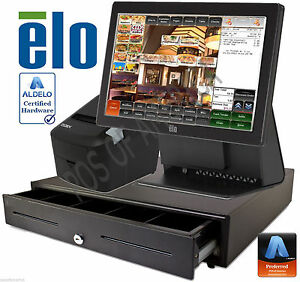 Aldelo Pro Elo Italian Restaurant All in one Complete Pos System Bundle New