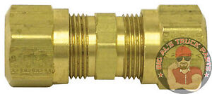 Tectran Tube Union Compression Fitting 3 16 10 Pack 62 3