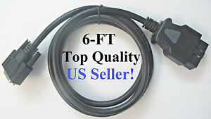 6ft Otc 3825 32 Pegisys Mvci Replacement Obd2 Obdii Main Cable Connector Plug
