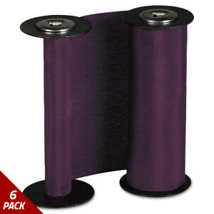 Acroprint 200137000 Ribbon Purple 6 Pack