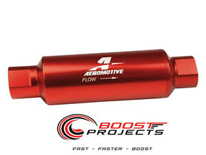 Aeromotive 100 Micron Orb 10 Red Fuel Filter 12304