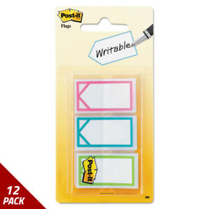 Post it Flags Study Memo Pg Flags Arrow Asstd Bright Colors 1 60 set 12 Pack