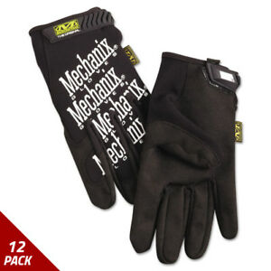 Mechanix Wear The Original Work Gloves Black Xx large 12 Pack