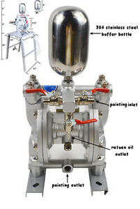 Diaphragm Paint Fluid Pump Delivery Transfer Chemical Material Pumping Tool