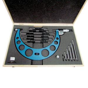 6 12 150 300mm Electronic Interchangeable Anvil Outside Micrometer