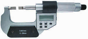0 1 0 25mm Electronic Blade Micrometer
