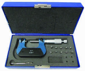 0 25mm Screw Thread Micrometer Metric