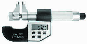 0 2 1 2 5 30mm Electronic Inside Micrometer