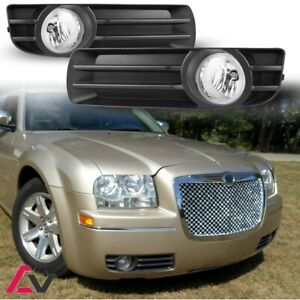 2005 2007 Chrysler 300 Fog Lights Clear Lamp Bulbs wiring Harness switch Kit