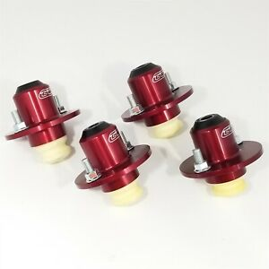 Uc205 Hm Red 4 Pack Ground Control Honda Mounts 88 00 Civic 90 01 Integra