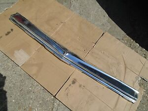 1962 Oldsmobile Starfire Under Grille Trim Panel Grill Moulding Bumper Plate 62