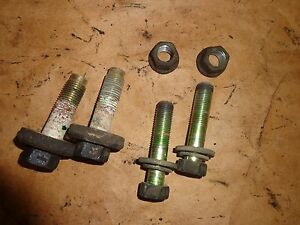 Toyota Supra Mk3 1986 5 92 Rear Differential Mounting Hardware Oem 6 Pieces