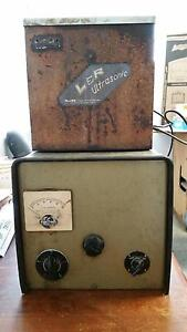 Vintage L r Ultrasonic Cleaner With A Timer Tank Dental Lab Jewelry