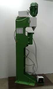 Pneumatic Orbital Riveting Machine Rmu 8 With The Table C 8 2 And Stand H 8