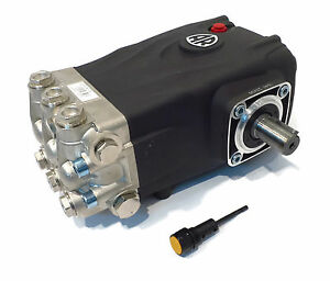 Pressure Washer Pump Replaces General Ts2021n Solid Shaft T 47 Triplex Pump