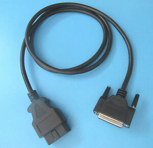 Obdii Obd2 Cable Compatible With Otc 3774 01 Nemisys Tech Force 2 Scanner Tool