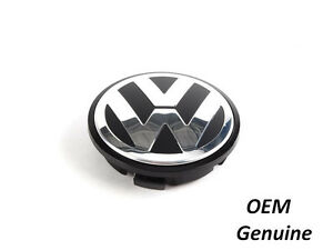Vw Wheel Center Hub Cap Cover 56mm Beetle Golf Touareg Passat Genuine Oem