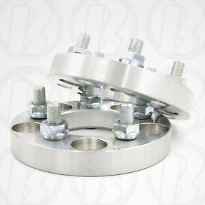 Two 5 X 100mm To 5 X 100mm Wheel Adapters 1 Spacers 12mm 1 5 Studs